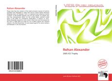 Bookcover of Rohan Alexander