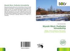 Bookcover of Wysoki Most, Podlaskie Voivodeship