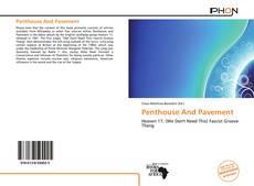 Обложка Penthouse And Pavement