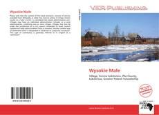 Bookcover of Wysokie Małe