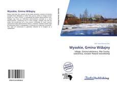 Capa do livro de Wysokie, Gmina Wiżajny