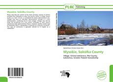 Portada del libro de Wysokie, Sokółka County