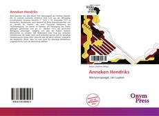 Capa do livro de Anneken Hendriks