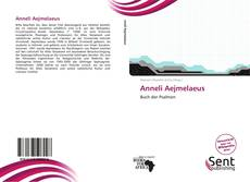 Anneli Aejmelaeus的封面