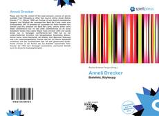 Bookcover of Anneli Drecker