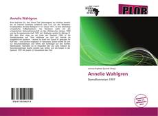 Bookcover of Annelie Wahlgren