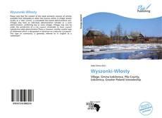 Buchcover von Wyszonki-Włosty