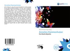 Bookcover of Annelies Kammenhuber
