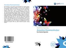 Buchcover von Annelies Kammenhuber