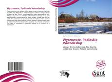 Portada del libro de Wyszowate, Podlaskie Voivodeship