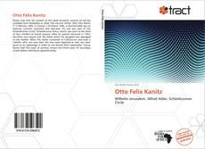 Capa do livro de Otto Felix Kanitz