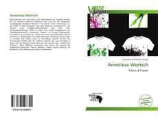 Buchcover von Anneliese Wertsch