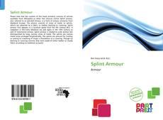 Copertina di Splint Armour