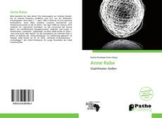 Bookcover of Anne Rabe