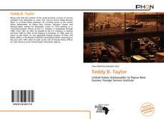 Copertina di Teddy B. Taylor