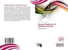 Portada del libro de Rogue Elephant of Aberdare Forest
