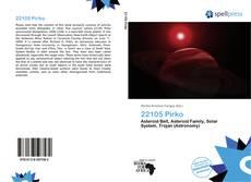22105 Pirko kitap kapağı