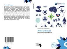 Bookcover of Anne Urbauer