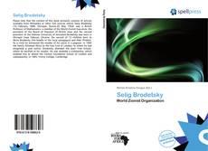 Selig Brodetsky kitap kapağı