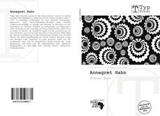 Bookcover of Annegret Hahn