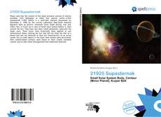 Bookcover of 21925 Supasternak