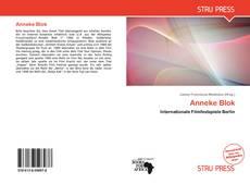 Couverture de Anneke Blok