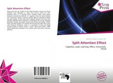 Обложка Split Attention Effect