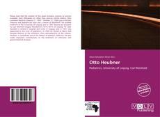 Capa do livro de Otto Heubner