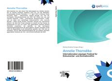 Bookcover of Annelie Thorndike