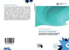 Annelie Thorndike kitap kapağı