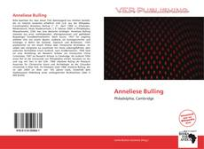 Bookcover of Anneliese Bulling