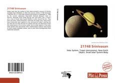 Portada del libro de 21748 Srinivasan