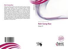 Portada del libro de Roh Sang-Rae