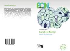 Buchcover von Anneliese Rohrer