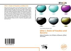 Portada del libro de Otto I, Duke of Swabia and Bavaria