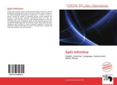 Bookcover of Split Infinitive