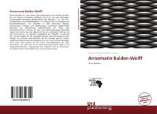 Bookcover of Annemarie Balden-Wolff