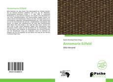 Buchcover von Annemarie Eilfeld
