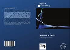 Buchcover von Annemarie Färber