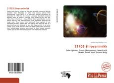 Portada del libro de 21703 Shravanimikk