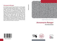 Bookcover of Annemarie Renger