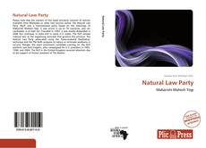 Обложка Natural Law Party