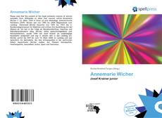 Bookcover of Annemarie Wicher