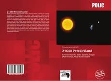 21640 Petekirkland的封面