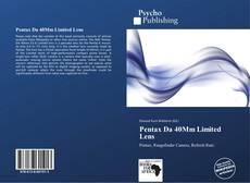 Pentax Da 40Mm Limited Lens的封面