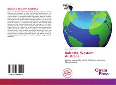 Bookcover of Balcatta, Western Australia