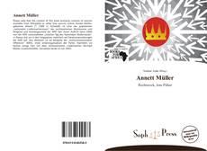 Annett Müller kitap kapağı