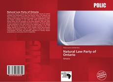 Natural Law Party of Ontario的封面