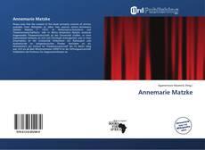 Buchcover von Annemarie Matzke