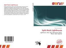 Capa do livro de Split Rock Lighthouse